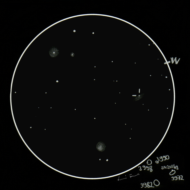 Graphite Galaxy - NGC 3972 + N...
